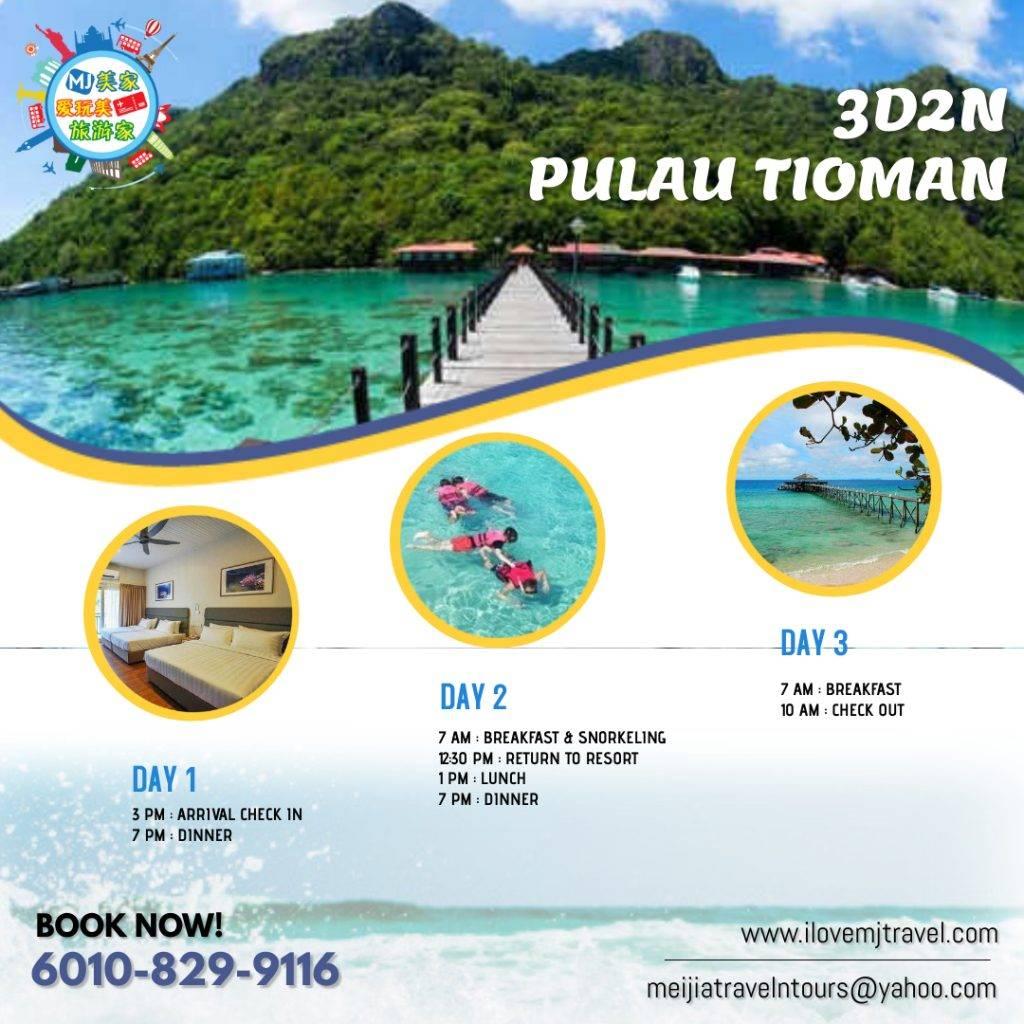 Simple Itinerary Tioman